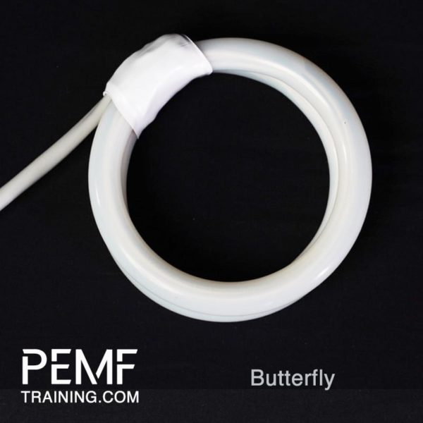 Butterfly Double Coil for PEMF device from PEMFtraining.com