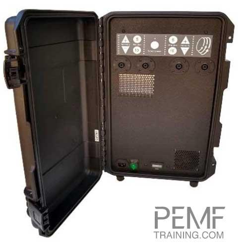 PEMF training PMT DUO high power PEMF device