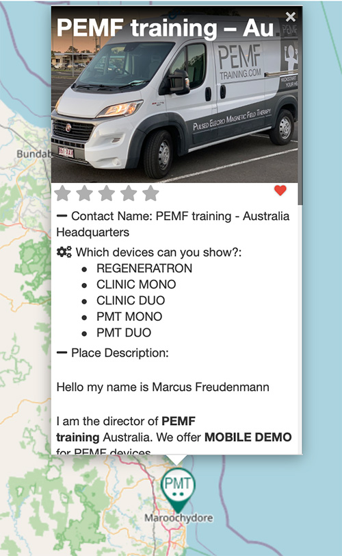 Edit your PEMF device listing